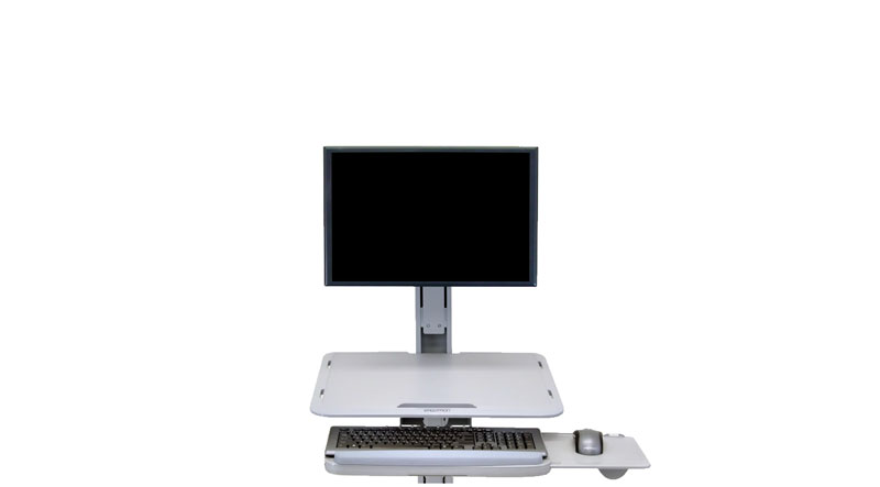 Sit-stand desk finder