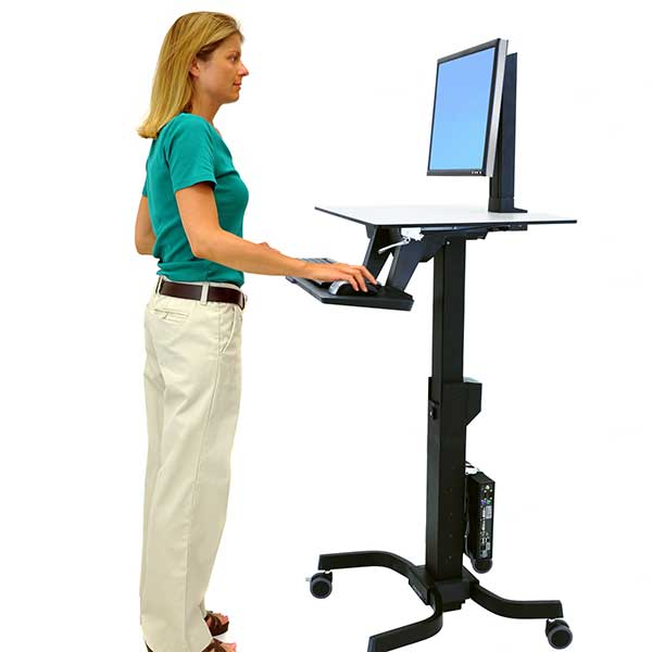 Standing Desks Monitor Mounts Mobile Carts Ergotron