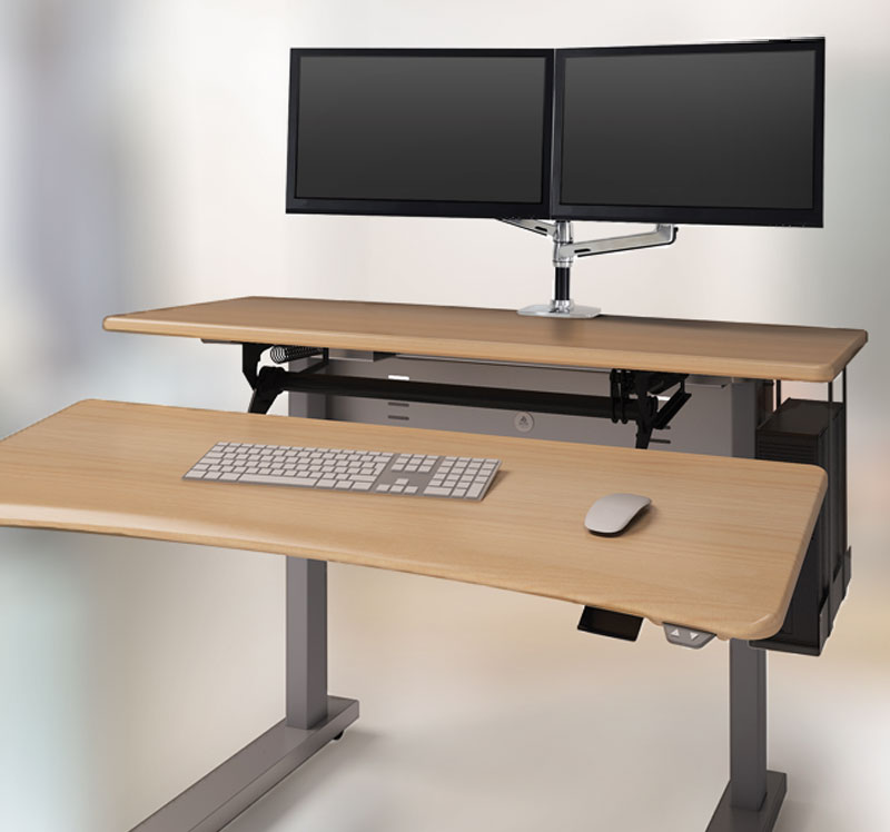 Adjustable Height Desk Solutions Ergotron