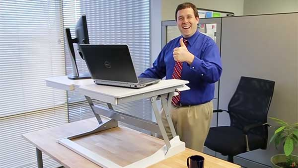Workfit T The Easy Standing Desk Ergotron