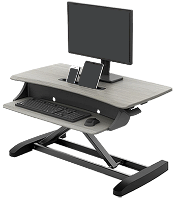 WorkFit-Z Mini Stand Up Desk Converter, Compact