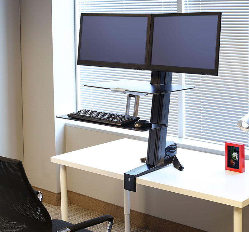 Tabletop Pedestal Amp Arm Desk Converter Solutions Ergotron