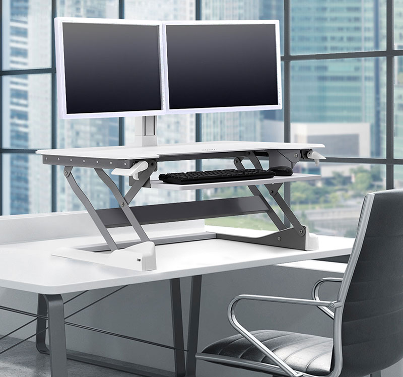 Tabletop Sit Stand Desk Converters