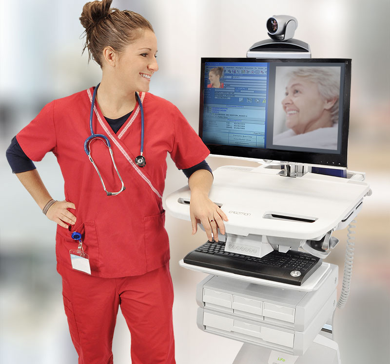 Telehealth Carts