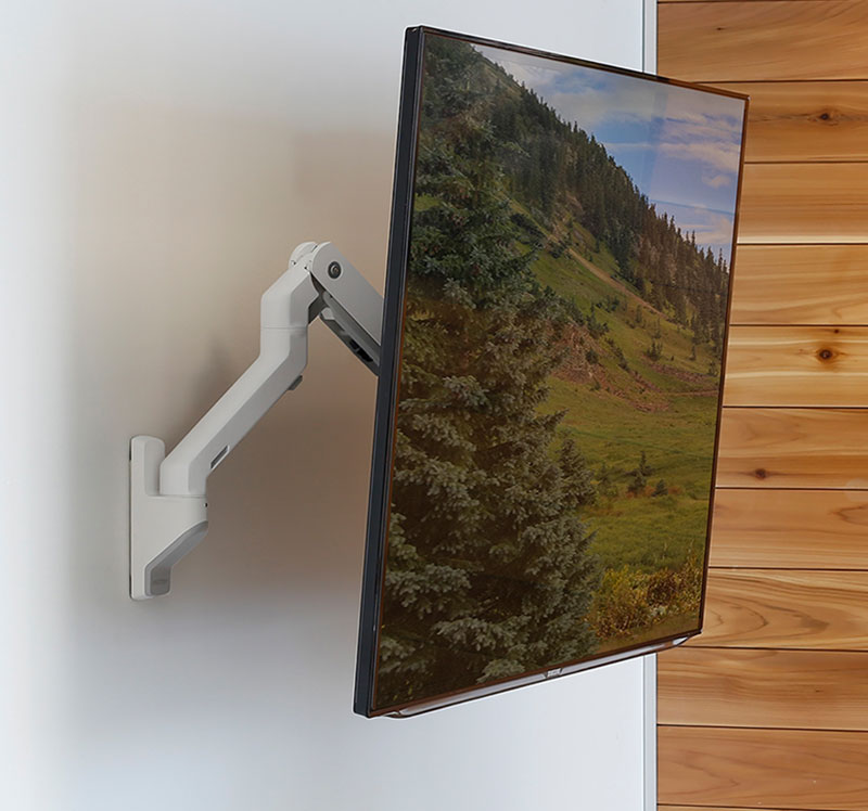 Tv Amp Monitor Wall Mounts Ergotron